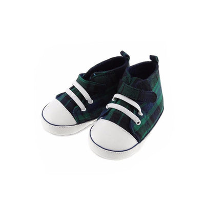 Baby and Infants Black Watch Tartan Baseball Boot