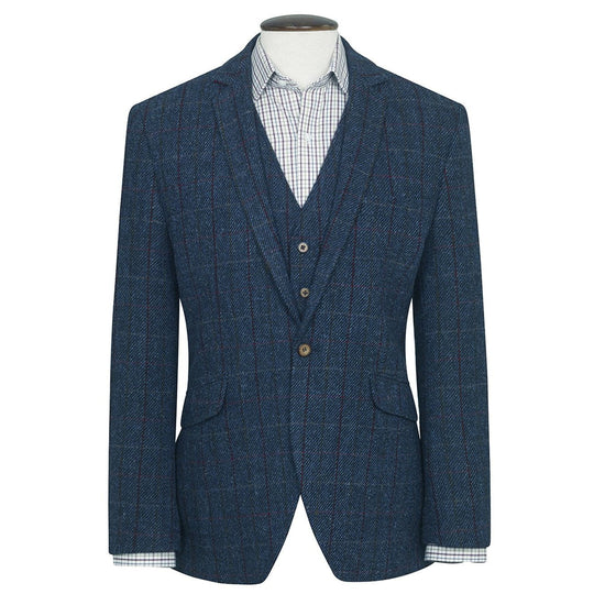 Mens Tolsta Harris Tweed Wool Blazer Jacket - Limited Sizes