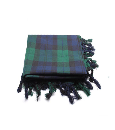 Deluxe Polyviscose Tartan Fly Plaid - Black Watch