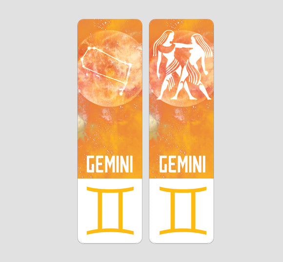 Gemini Zodiac Bookmark