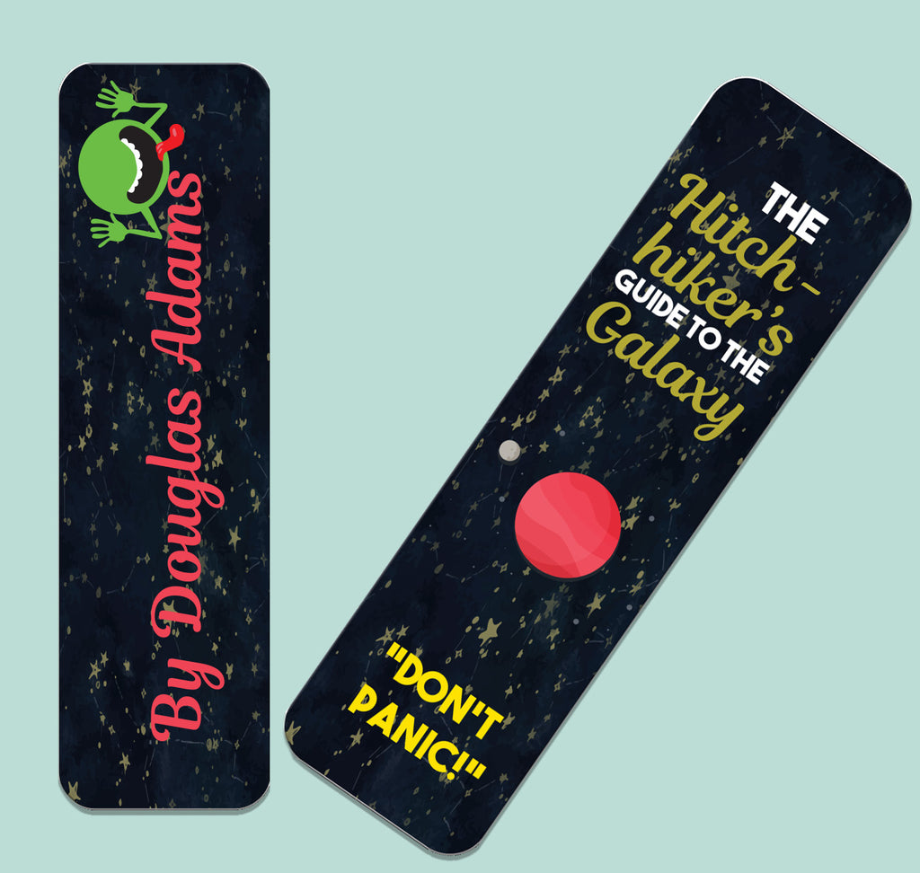 The Hitchhiker's Guide to the Galaxy by Douglas Adams Bookmark