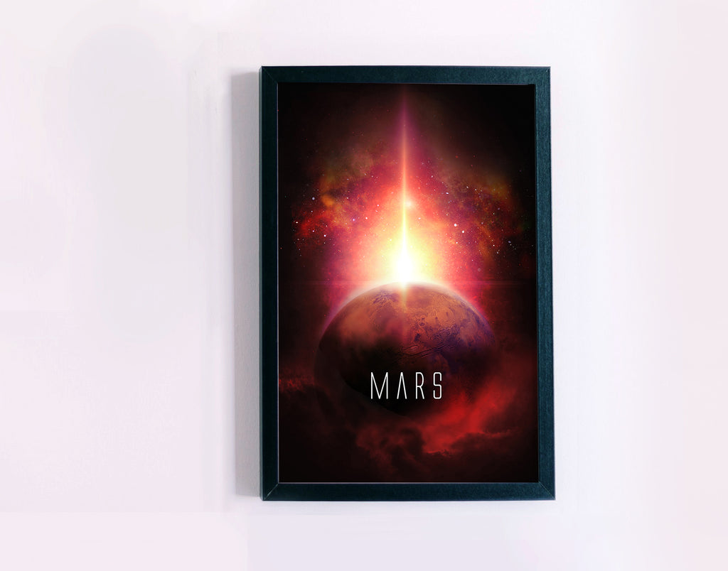 Planet Mars Poster