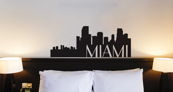 Miami Silhouette Decal