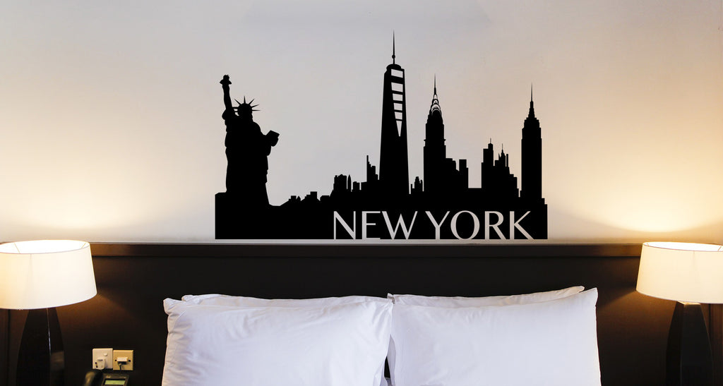 New York Silhouette Decal