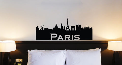 Paris Silhouette Decal