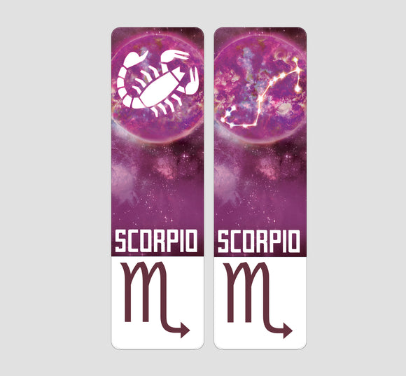 Scorpio Zodiac Bookmark