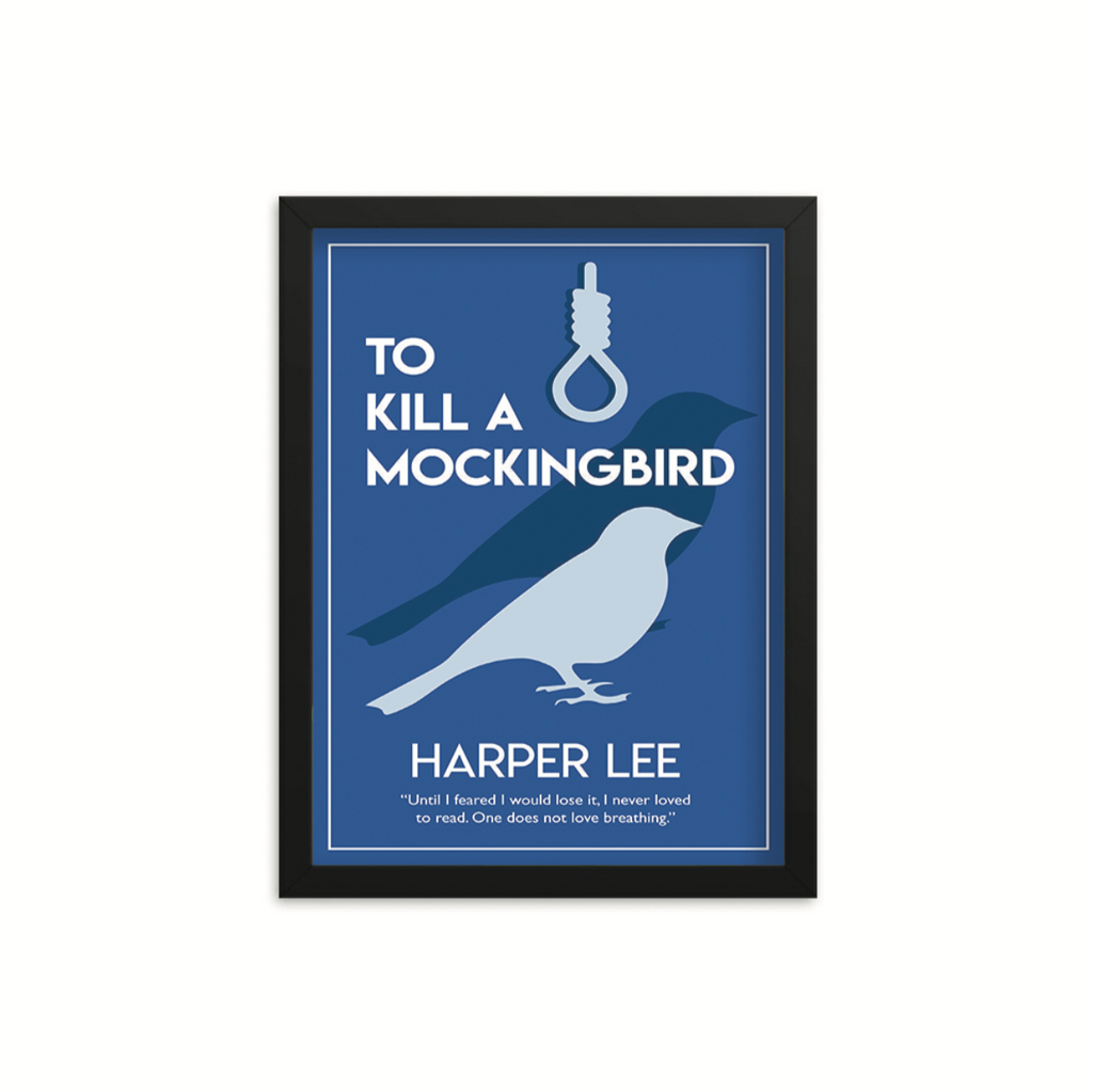 To Kill A Mockingbird by Harper Lee Book Poster