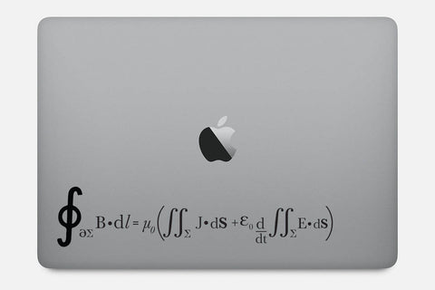 Ampere's Circuital Law Decal Sticker