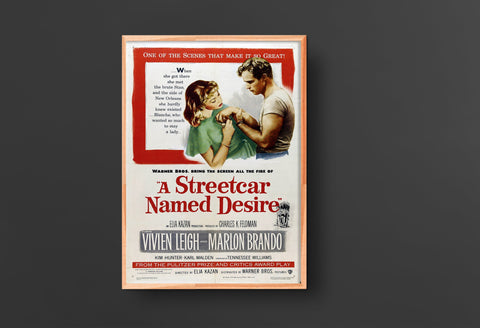 A Streetcar Named Desire Movie Poster (1951)