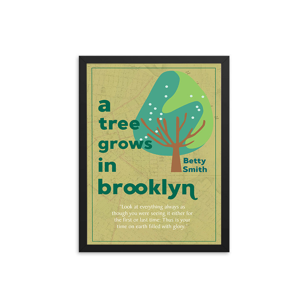 A Tree Grows in Brooklyn by Betty Smith Book Poster