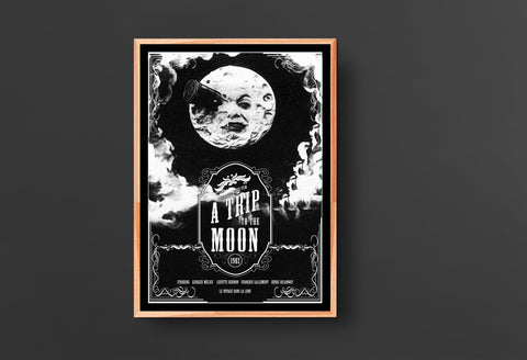 A Trip to the Moon Movie Poster (1902)