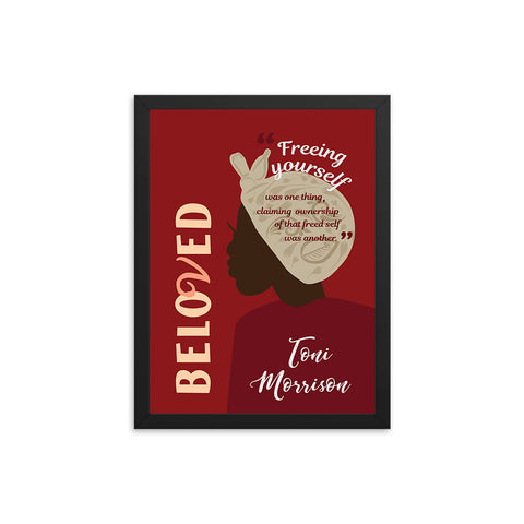 Beloved by Toni Morrison Book Poster