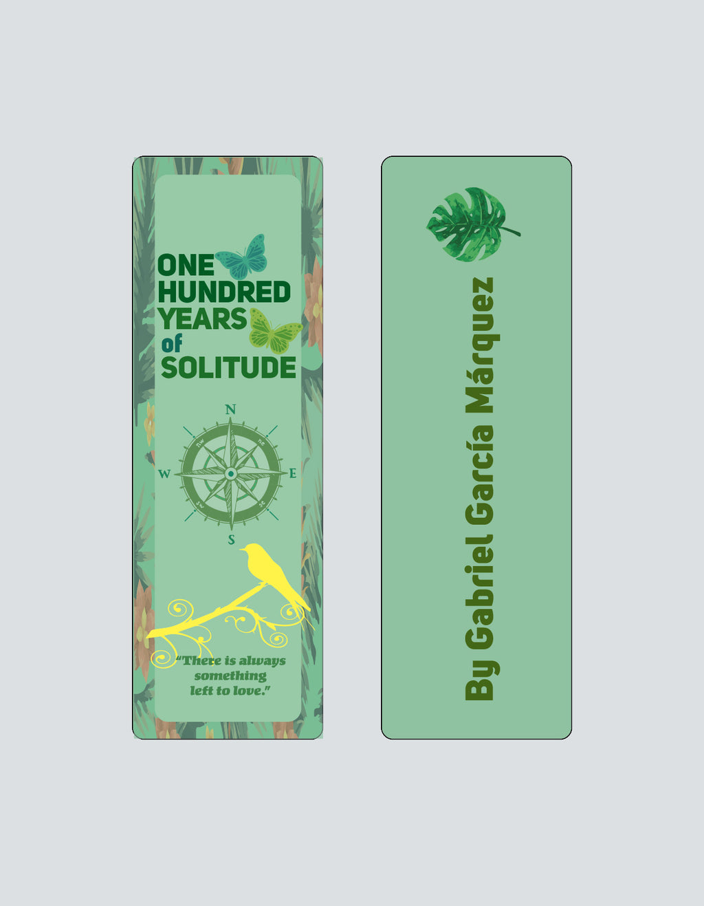 One Hundred Years of Solitude by Gabriel García Márquez Bookmark