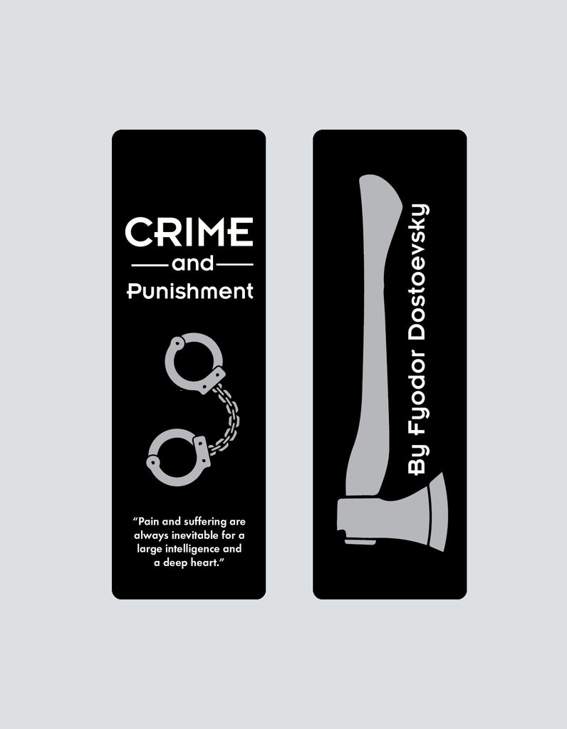 Crime & Punishment by Fyodor Dostoevsky Bookmark