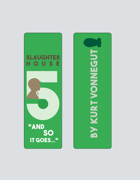 Slaughterhouse-Five by Kurt Vonnegut Bookmark