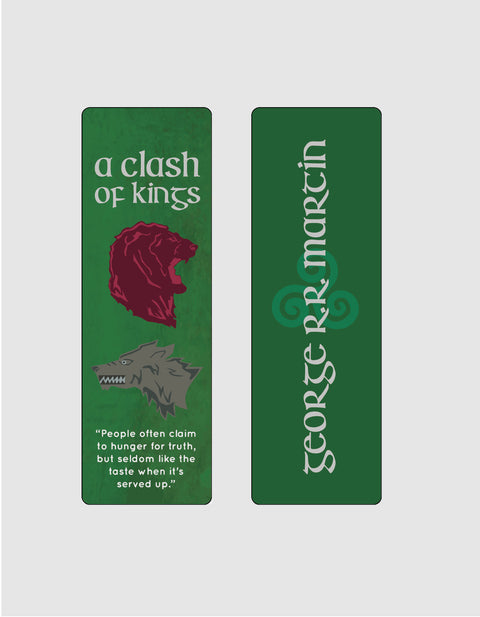 A Clash of Kings by George R. R. Martin Bookmark