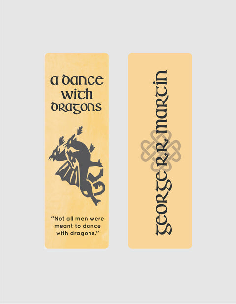 A Dance with Dragons by George R. R. Martin Bookmark
