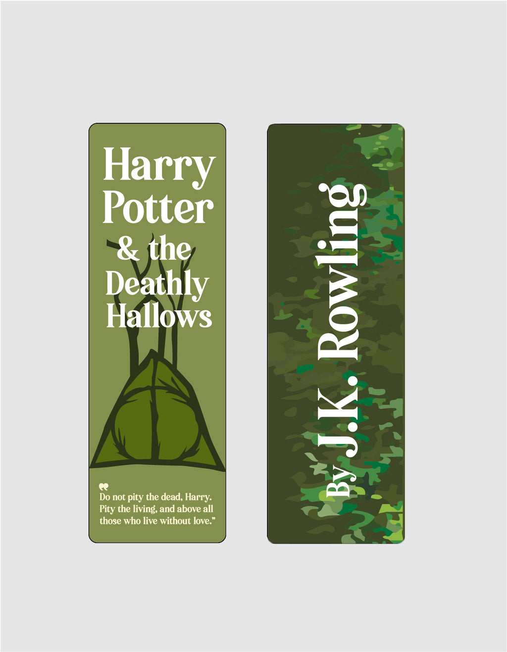 Harry Potter and the Deathly Hallows by J.K. Rowling Bookmark