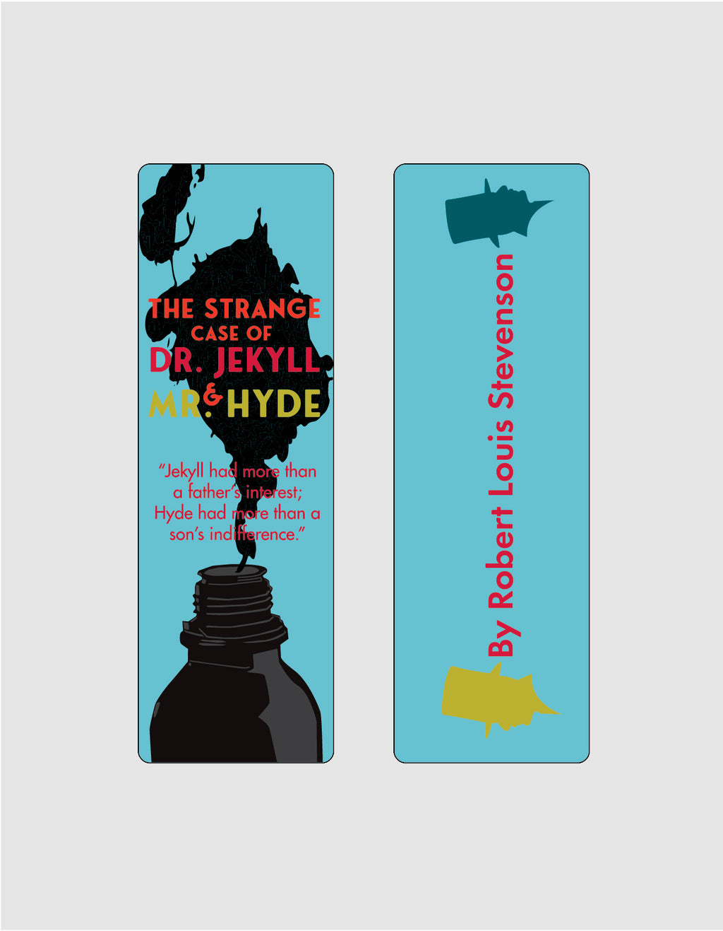 The Strange Case of Dr. Jekyll and Mr. Hyde by Robert Louis Stevenson Bookmark