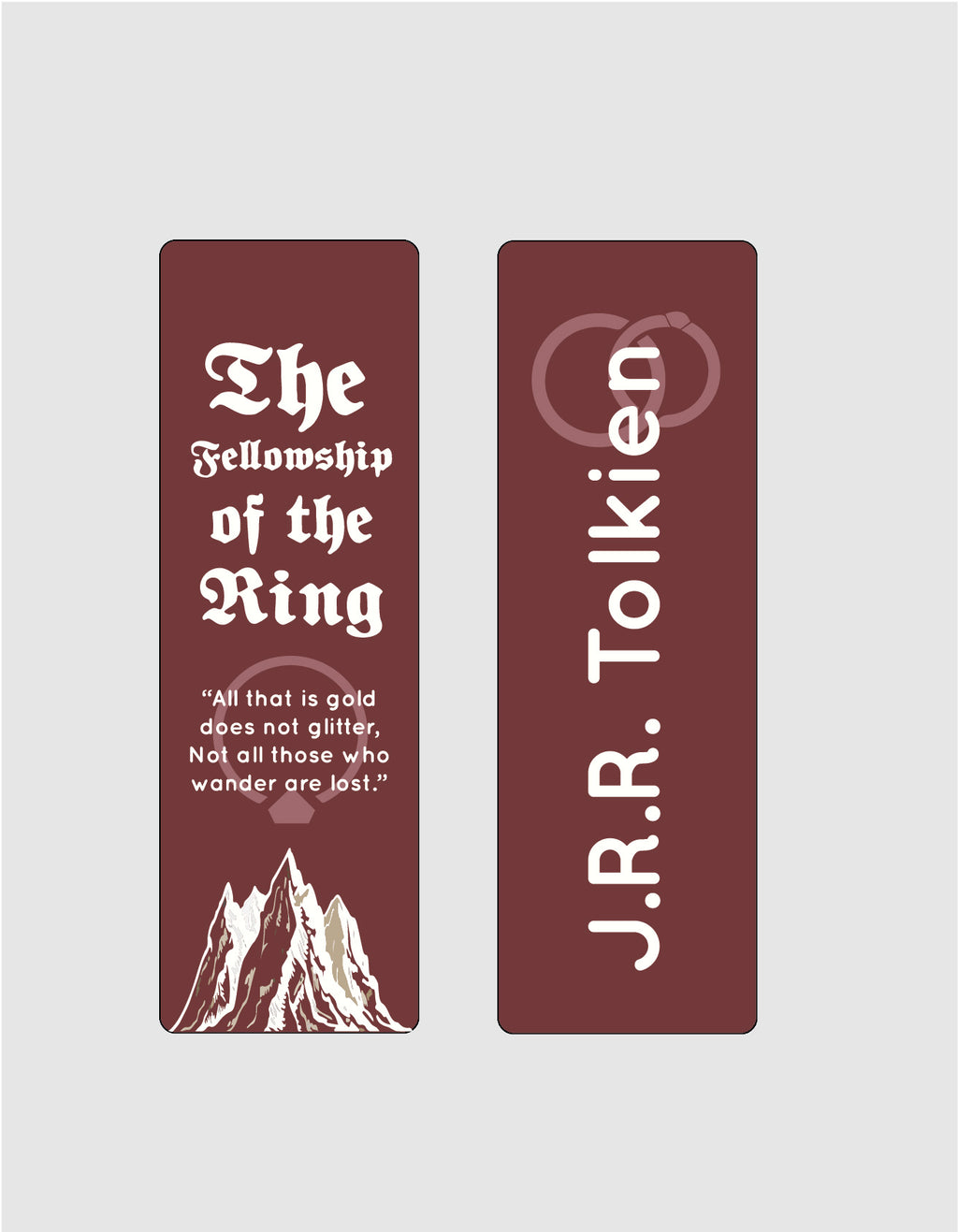 The Fellowship of the Ring by J. R. R. Tolkien Bookmark