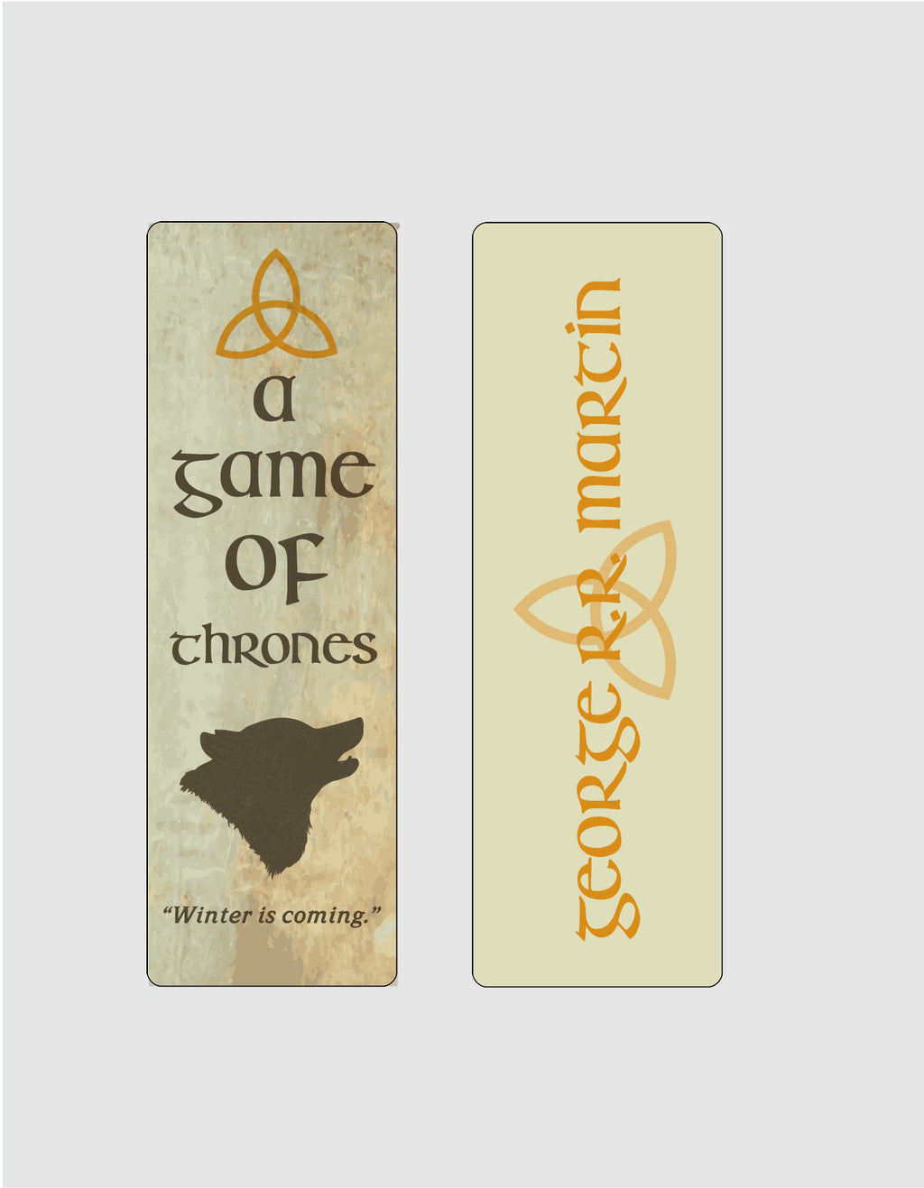 A Game of Thrones by George R. R. Martin Bookmark