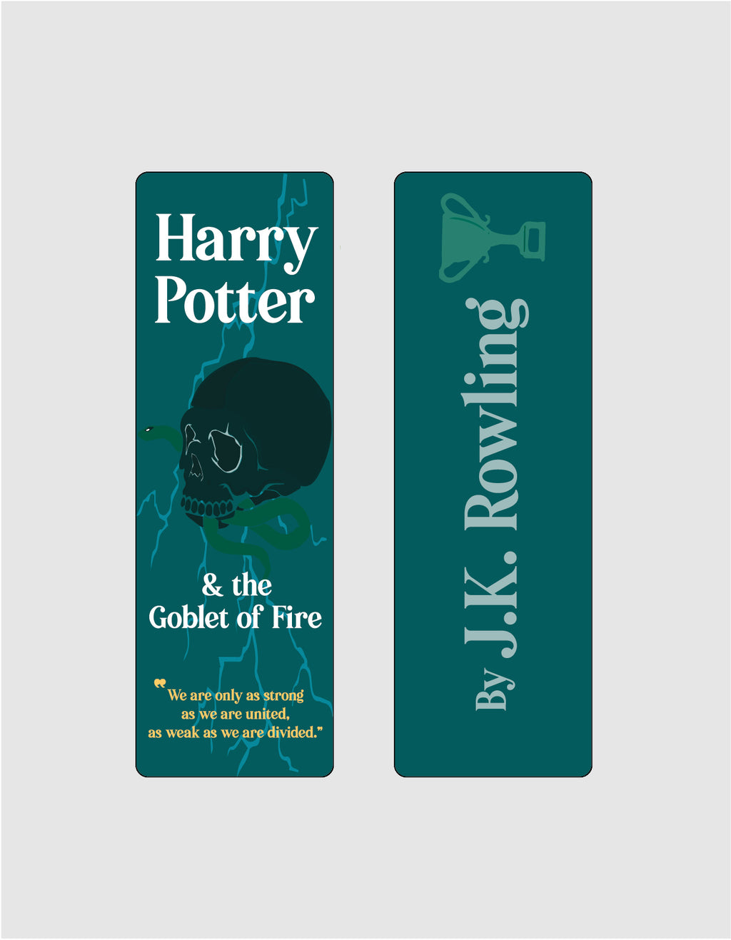 Harry Potter and the Goblet of Fire by J.K. Rowling Bookmark