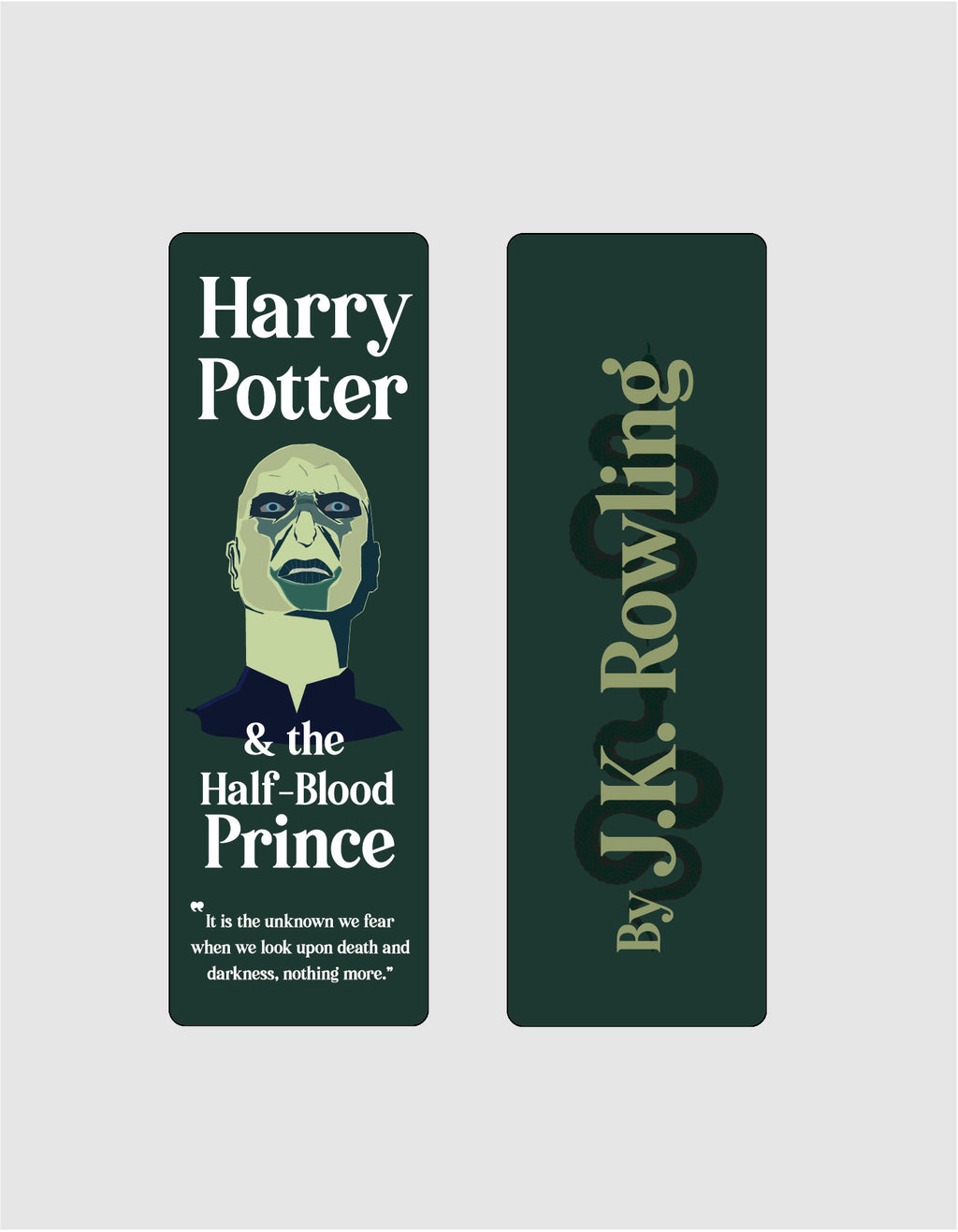 Harry Potter and the Half-Blood Prince by J.K. Rowling Bookmark