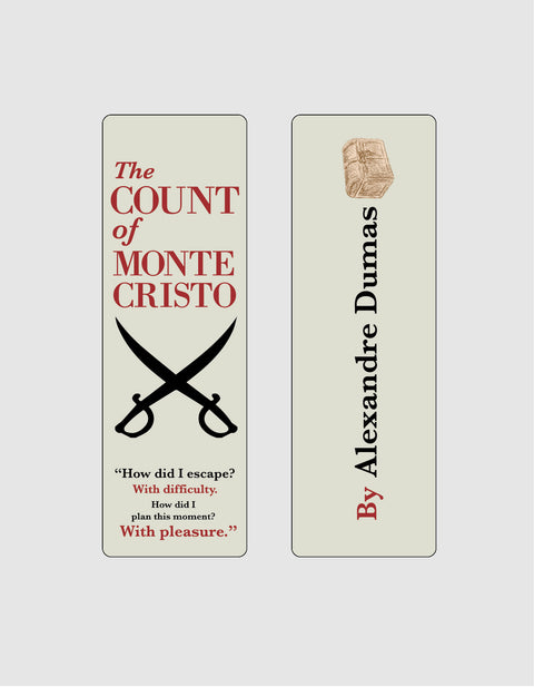 The Count of Monte Cristo by Alexandre Dumas Bookmark