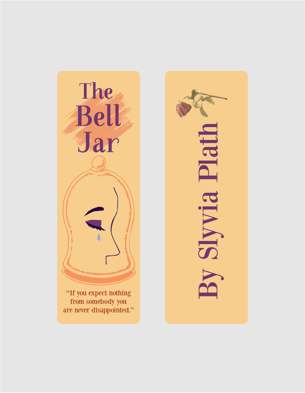 The Bell Jar by Sylvia Plath Bookmark