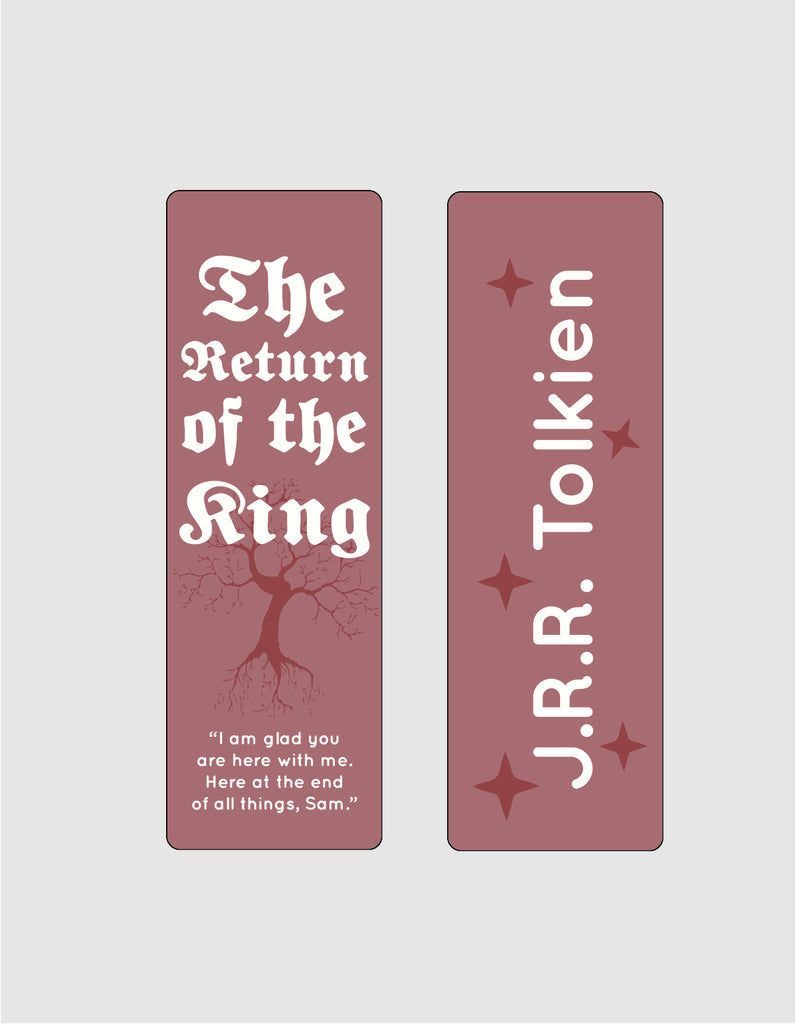 The Return of the King by J. R. R. Tolkien Bookmark