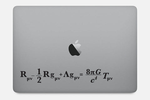 Einstein Field Equation for General Relativity Decal Sticker