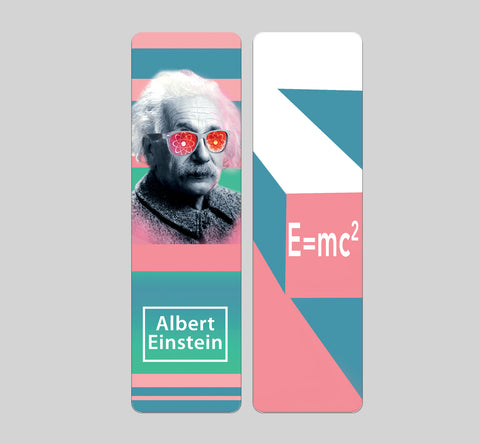 Albert Einstein Bookmark