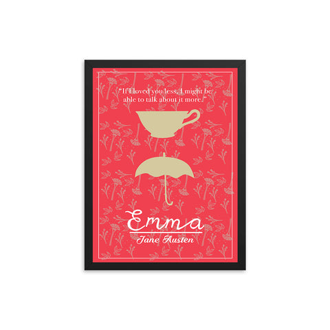 Emma by Jane Austen Book Poster