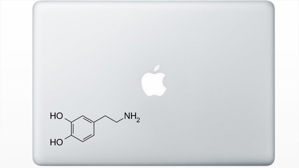 Dopamine Chemical Structure Decal Sticker