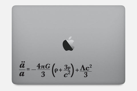 Friedmann Equation Decal Sticker