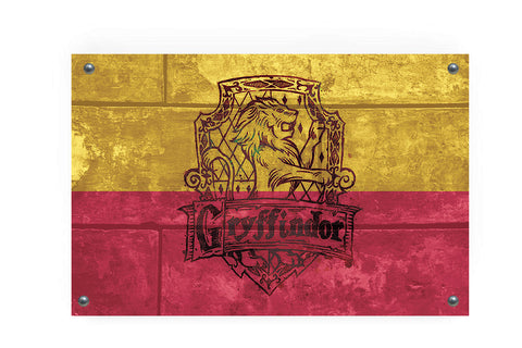Gryffindor House Flag Wall Decor