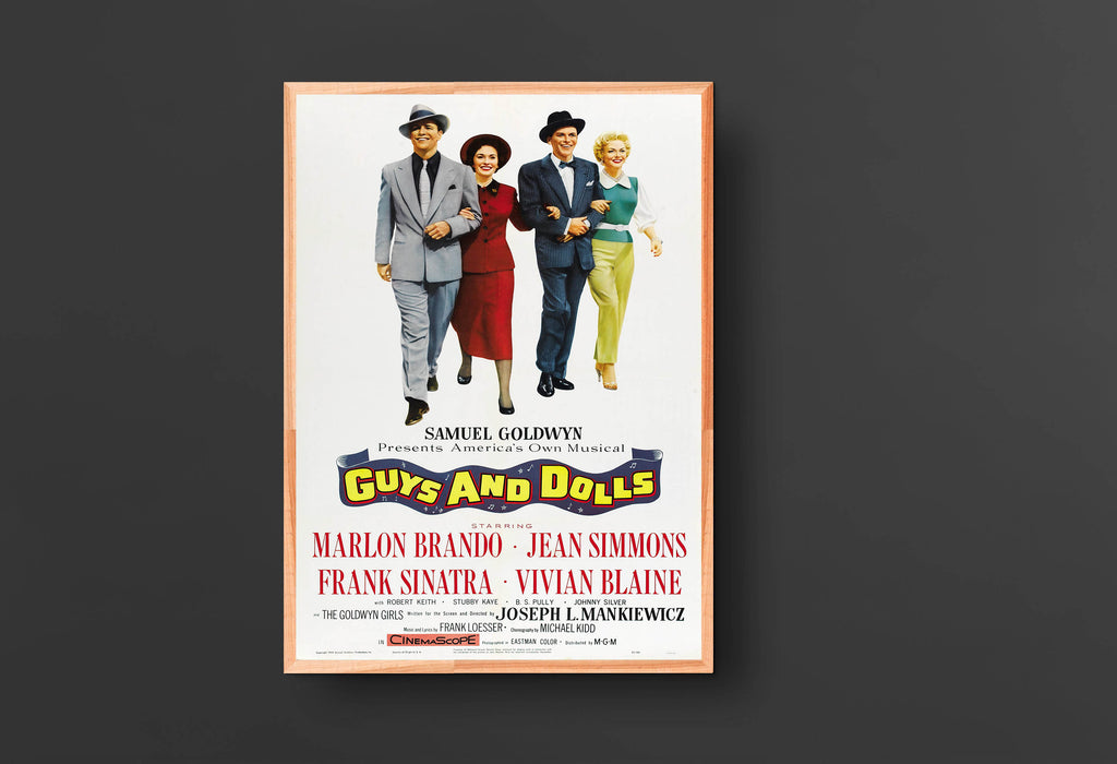 Guys and Dolls Movie Poster (1955)