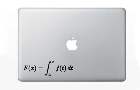 Fundamental Theorem of Calculus Decal Sticker