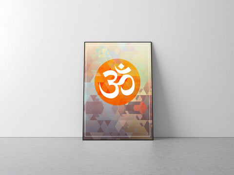 OM Yoga Home Decor Poster