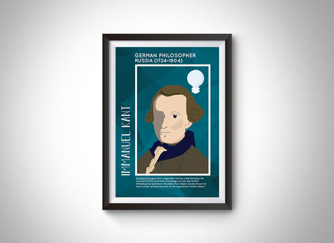 Immanuel Kant Poster Wall Decor