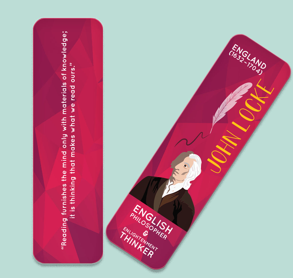 John Locke Bookmark