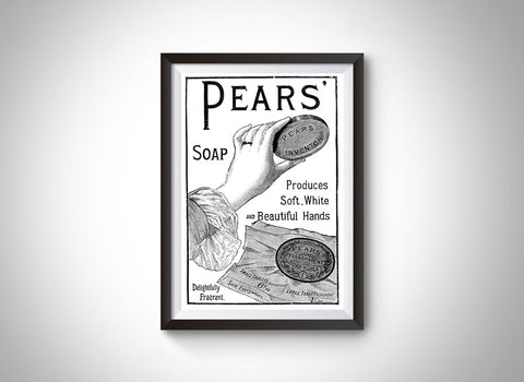 Pears' Soap (1886) Vintage Ad Poster