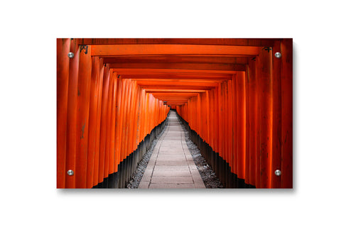 Inari Shrine Kyoto Japan Wall Art