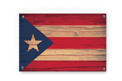 Puerto Rico Flag Wall Art