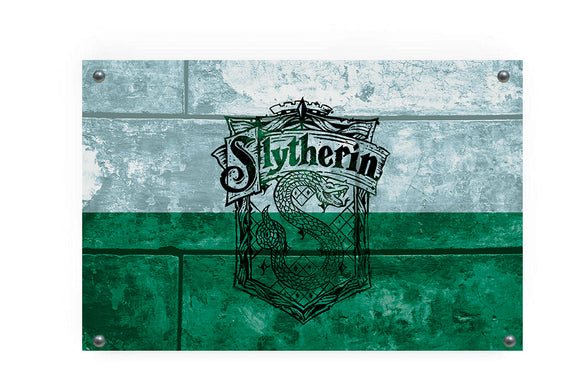Slytherin House Flag Wall Decor