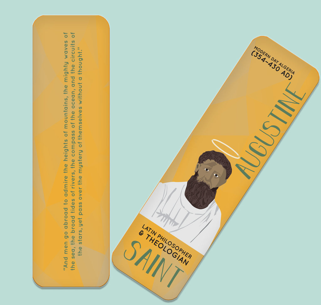 St. Augustine Bookmark
