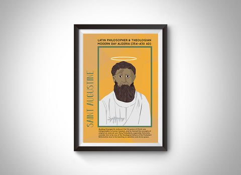 St. Augustine Poster Wall Decor
