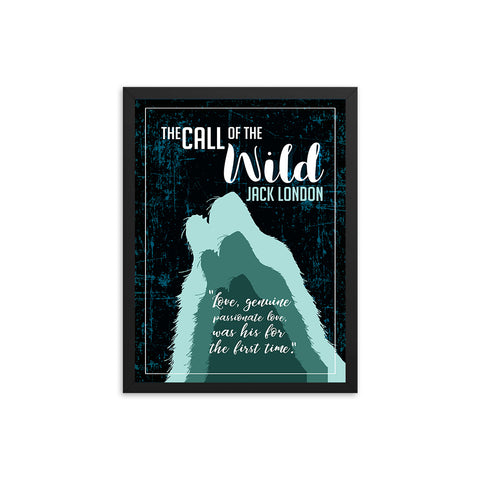 The Call of the Wild by Jack London Book Poster