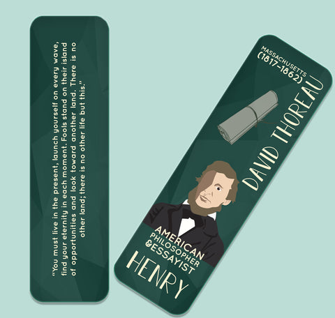 Henry David Thoreau Bookmark