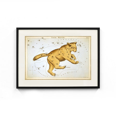 Ursa Major Constellation (Urania's Mirror) Wall Art